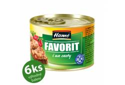 Favorit 180g x 6ks HAMÉ