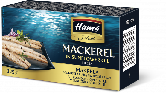 HAMÉ Select Filety z makrel v oleji 125g