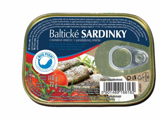 Balt.sardinky v tom.om. 110g KING OSCAR (blue)